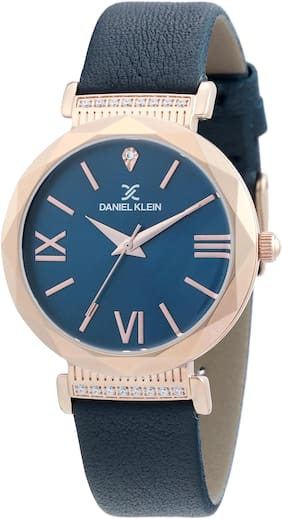 Daniel Klein Analog Blue Dial Women's Watch-DK.1.12285-4