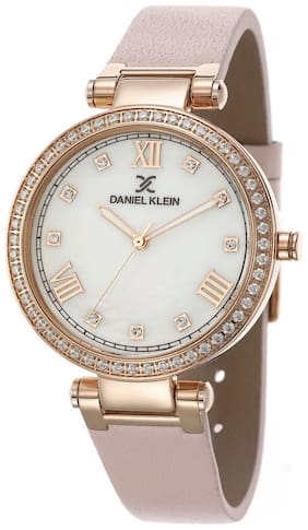 Daniel Klein Analog Silver Dial Women's Watch-DK.1.12402-3