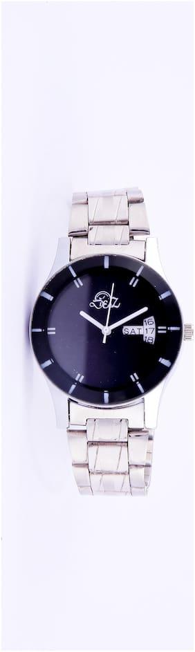 Derz Black Day and Date Analog Watch For Men - DZ 005