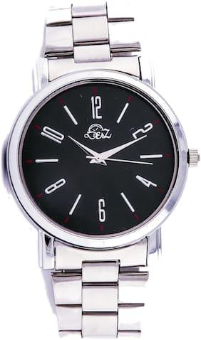 Derz Black Wrist Analog Watch For Men - DZ011