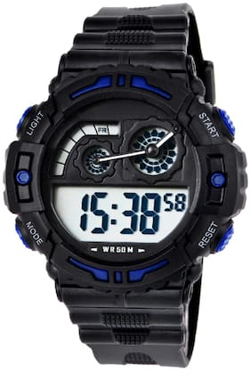 DIRAY Digital Unique Dial Technometer Style Chronograph Multi-function Sports Watch For Men-DR339G1