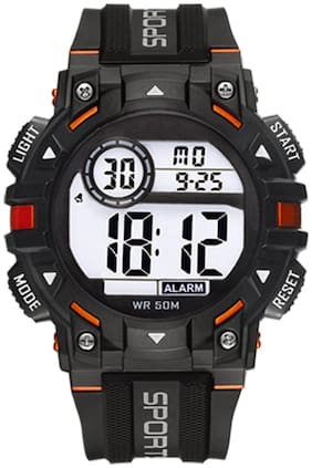 DIRAY Digital Heavy Load Built Style Chronograph & Multifunctional Sports Watch For Men-DR318G7