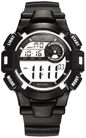 DIRAY Digital Chronograph & Alarm Function Velocity-M Series Black Color Sports Watch For Men-DR305G1