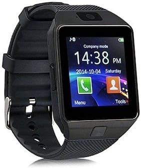 DWC Dz09 Black Smart Watch For Men And Women