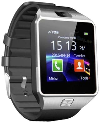 DZ09 4g Smart Watches Silver for Men & Women
