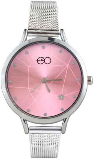 E2O Metallic Strap Analouge Women'S Watch