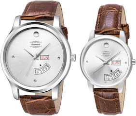 EDMOND  COUPLE WATCHES IN DAY AND DATE DISPLAY ED-066