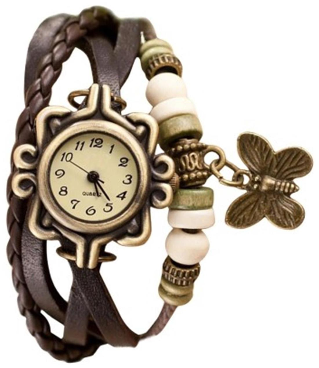 ELY Brown Analog Watch image