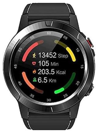 EONZ X Trek 3 Unisex 42 mm Black Smart Watch