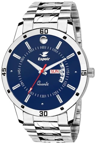 Espoir Analog Blue Day and Date Dial Men's Watch - Nail0507