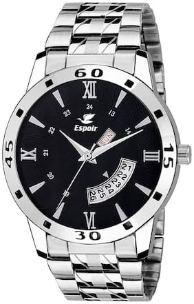 Espoir Analog Balck Dial Day and Date Boy's and Men's Watch - Sam-Hammer0507