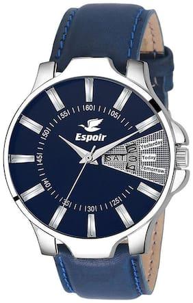 Espoir Analogue Blue Dial Day & Date Men's Watch- Wyatt0507