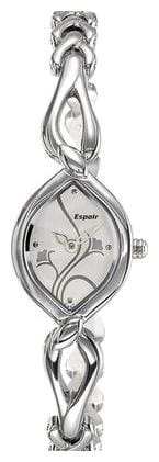 Espoir Floral Analog White Dial Women's Watch - ESP2546