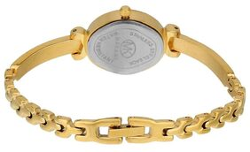 Espoir Makani Collection Analog Gold Dial Women's Watch - SakshiGold0507