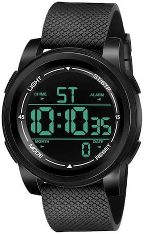 Espoir Waterproof Series Digital Black Dial Digital Boy's and Men's Watch - Digi Mark