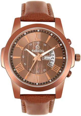 Fabelite NEC00135211 Men Brown - Analog Watch