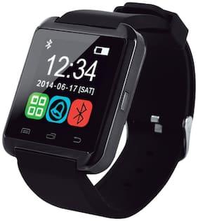FANOSONS U8 Smart Phone Watch, Health & Fitness Black Smartwatch