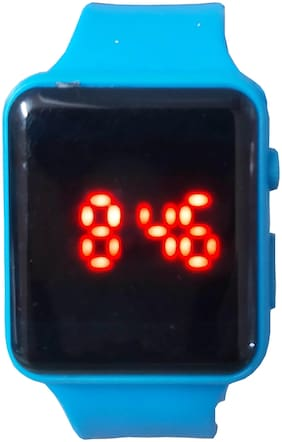 Farp Digital Led Watch Blue Colour Mens And Boys Watch