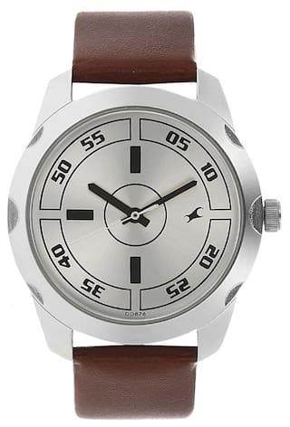 Fastrack 3123SL02 Brown Round Analog Watch