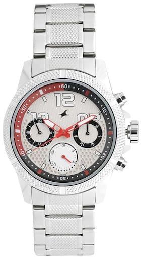 Men Silver Chronograph Watches