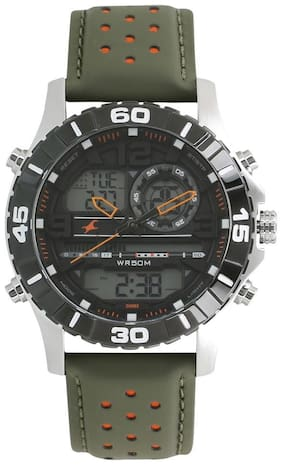 Fastrack 38035SL03 Guys Ana Digi Watches