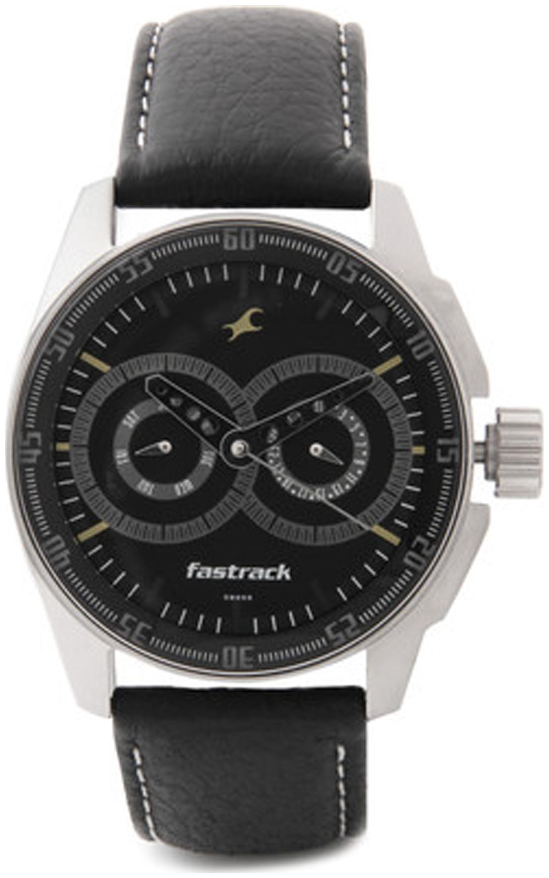 Fastrack  3089Sl02 Men Chronograph Watch