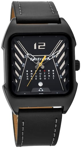 Fastrack Gamify 3249NL01 Black Analog Watches For Men