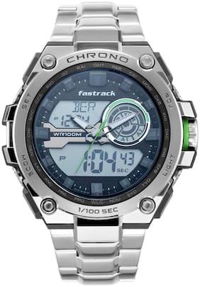 Men Grey Analog-Digital Watch