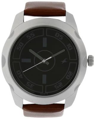 Fastrack NK3123SL03 Men Black - Analog Watch