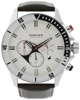 Men White Chronograph Watches