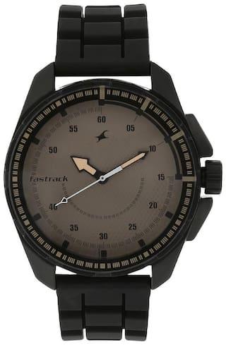 Fastrack NK3084NP01 Men Brown - Analog Watch