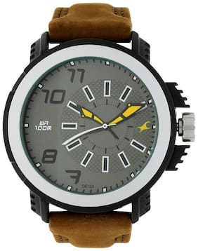 Fastrack NK38015PL03 Guys Analog Watches