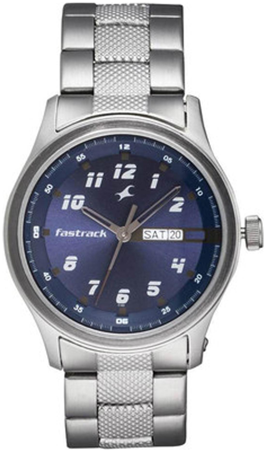 Fastrack NC3001SM02 Men Blue   Analog Watch by Watch Apeal
