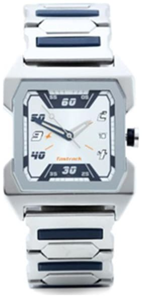 Fastrack Silver Analog Watch 1474SM01