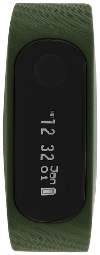 Fastrack SWD90059PP06 Men 50 mm Green Fitness Band & Trackers