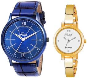 Fetch    Mens And Womens Watches-Combo Fw-0163