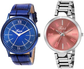 Fetch    Mens And Womens Watches-Combo Fw-0172