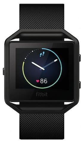 Fitbit Blaze Special Edition (Gun Metal) - Large