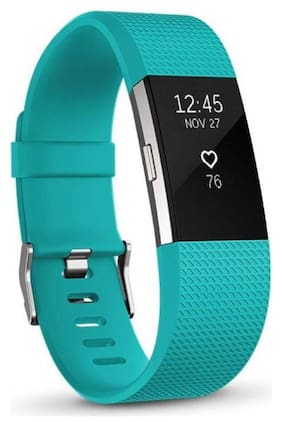 Fitbit Charge 2 Wireless Activity Tracker and Sleep Wristband teal Small