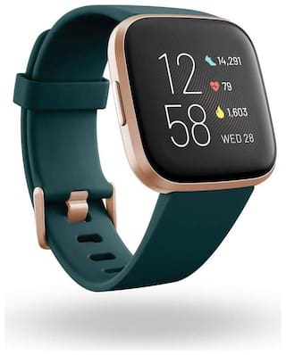 Fitbit Versa 2 Health & Fitness Smartwatch with Heart Rate;Music;Alexa Built-in;Sleep & Swim Tracking;Stone