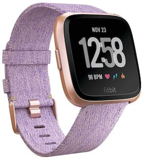 Fitbit Versa Health and Fitness Smartwatch Onesize Unisex - Lavender