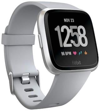 Fitbit Versa Health and Fitness Smartwatch Onesize Unisex - grey