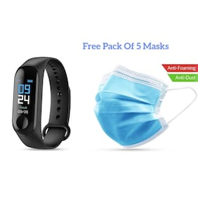 FitMove M3 Smart band for women and girls (Free 5 Masks)