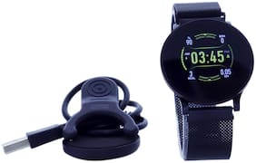 Fitmove Round Shape Jitblack Watch For Men And Women