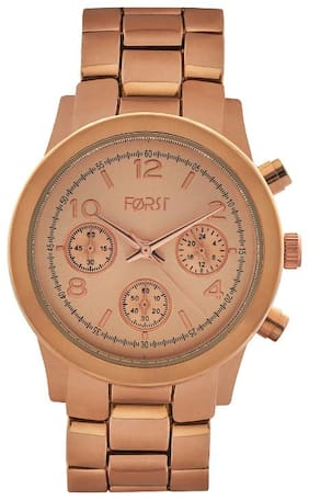 Forst Rose Gold-Toned Chronograph Watch for Women 000490