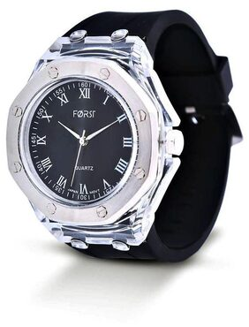 Forst White & Black Waterproof Analogue Watch for Men