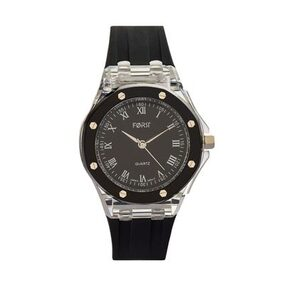 Forst White & Black Waterproof Analogue Watch for Women