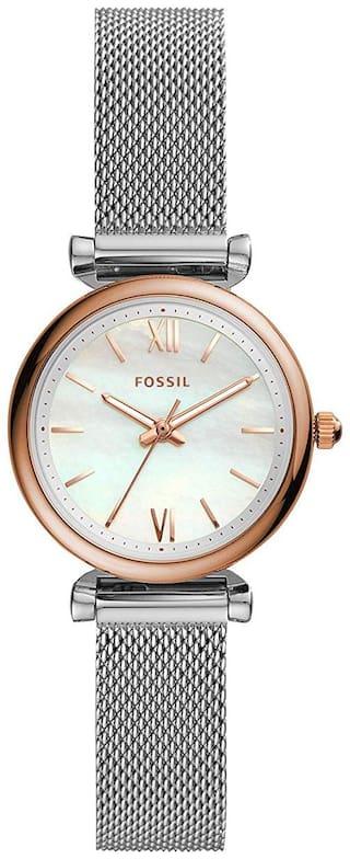 Fossil ES4614 Women White Analog Watch