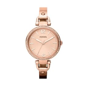 Fossil ES3226I Women Rose Gold Analog Watches