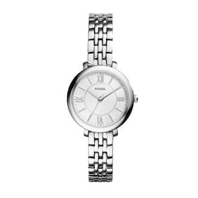 Fossil ES3797I Women Silver Analog Watches